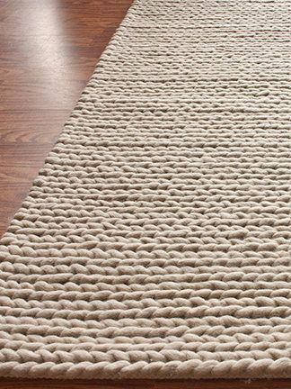 Chunky Cable Hand-Woven Rug by nuLOOM at Gilt