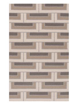 Paddington Hand-Woven Flatweave Rug from Minimalist Home on Gilt