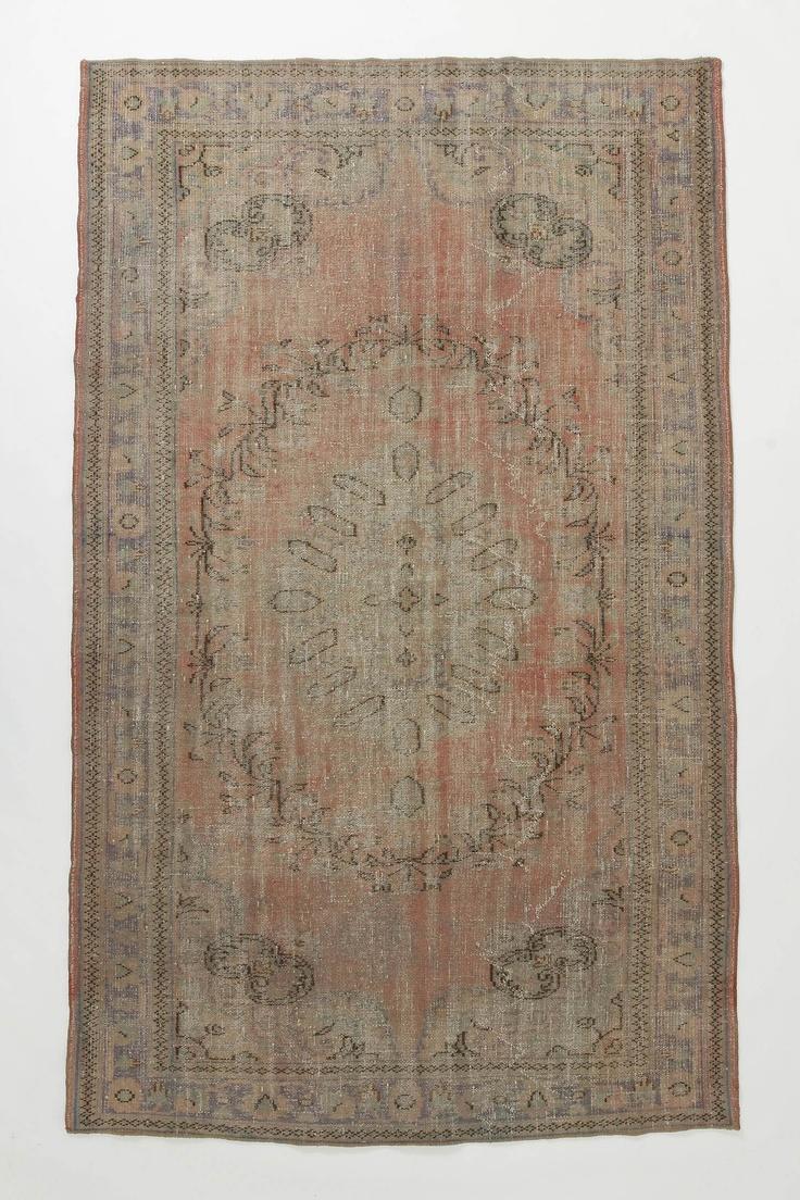 blush toned rug