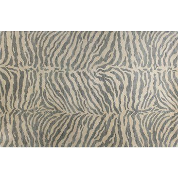 Check out this item at One Kings Lane! Wilderness Rug, Silver Blue