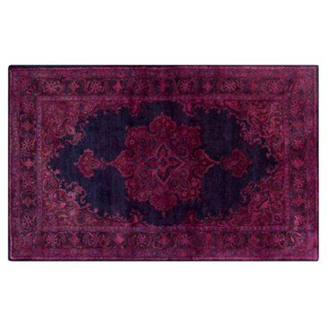 Check out this item at One Kings Lane! Antwerp Rug, Violet/Blue