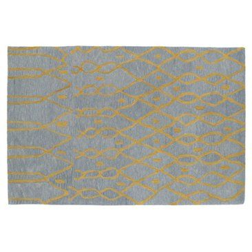Check out this item at One Kings Lane! Tatum Rug, Light Blue