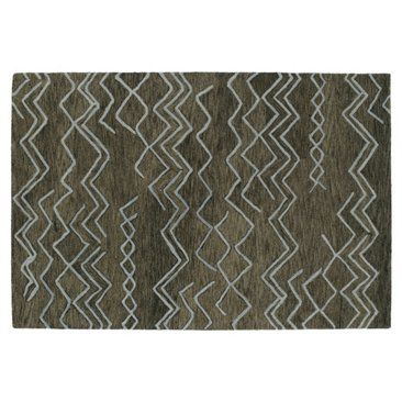 Check out this item at One Kings Lane! Leigh Rug, Ash