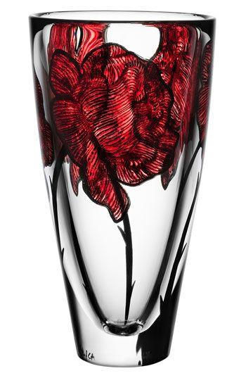 Kosta Boda 'Tattoo' Vase | Nordstrom