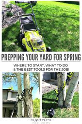 Prepping Your Yard for Spring - Inspiration For Moms