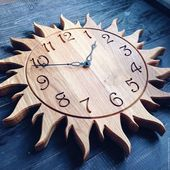 Часы для дома ручной работы. Ярмарка Мастер...