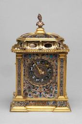 Table Clock Made by David Altenstetter ca.1580