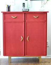 Can you believe this used to be a simple Ikea Ivar cabinet!