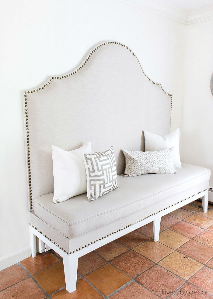 How to Build a Banquette (Our Kitchen Banquette is Done)!