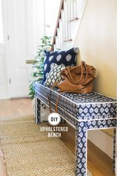 Ikea Hack: DIY Upholstered Bench