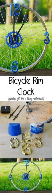 Bicycle Rim Clock: The Perfect Gift for a Biking Enthusiast