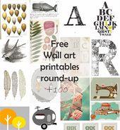 DIY Monday # Free Wall Art printables - Ohoh deco