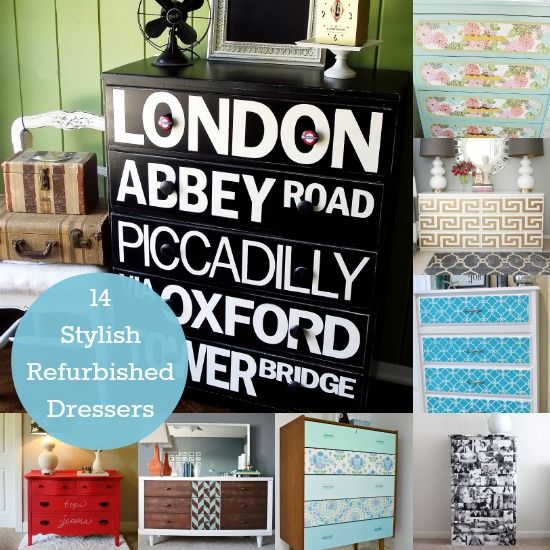DIY Refurbished Dresser Ideas You'll Have to Try - DIY Candy