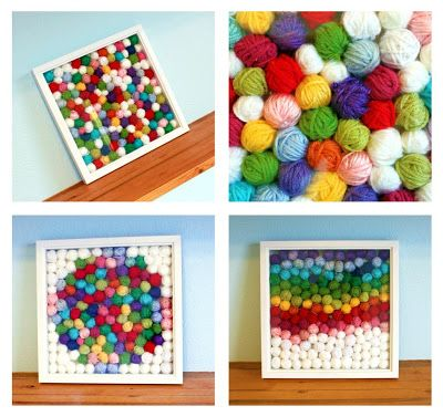 EASY: What to do with our yarn SCRAPS - Idea #1