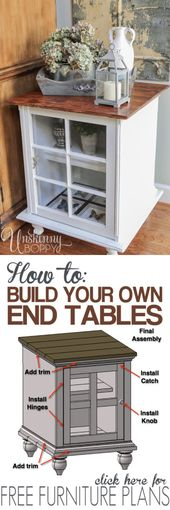 End Table Furniture Plans: Introducing The Rogue Engineer - Unskinny Boppy