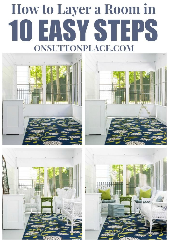 How to Layer a Room in 10 Easy Steps - On Sutton Place