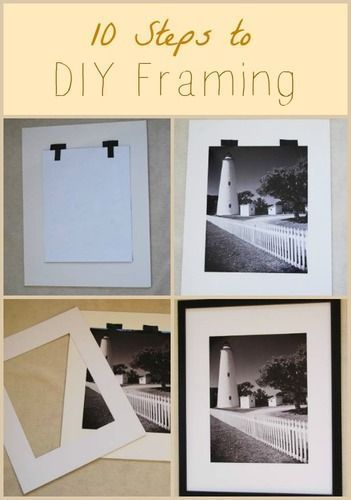 How to frame your favorite artwork ... all by yourself!
