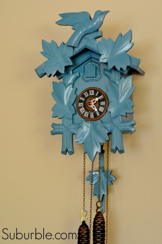 That Time I Spray-Painted A Cuckoo Clock... - Suburble