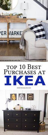 Top 10 Best IKEA Purchases - Honeybear Lane