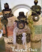 www.tatteredchick...  altered bottles