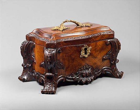 Tea chest | British | The Met