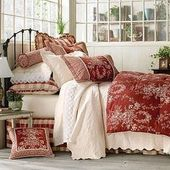 French Country Toile Bedding | Perfect for Christmas