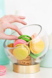 DIY Footed Display Bowls - Sugar & Cloth Decor %