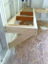 One Room Challenge Bench Building - At Home With The Barkers