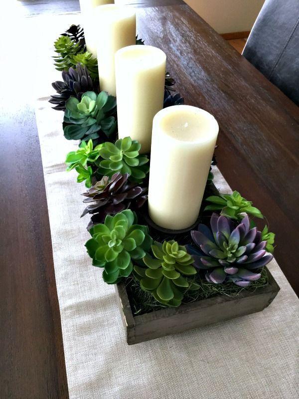 Spring Succulent Garden Idea - Inspiration For Moms