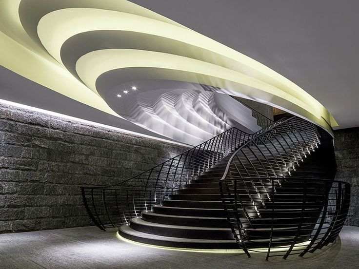 Ceiling Lighting Inspired By China's Terraced Rice Fields