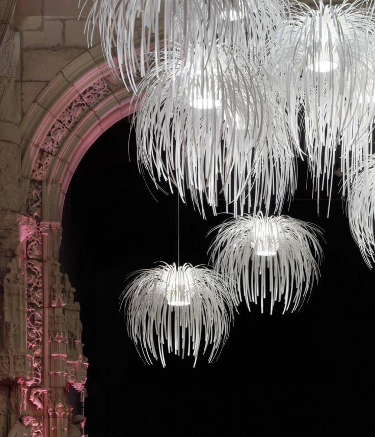 Light installation by Arturo Alvarez