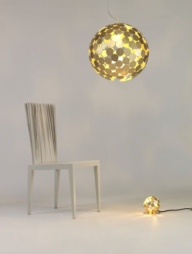 Planet-O Lamp by Divisual