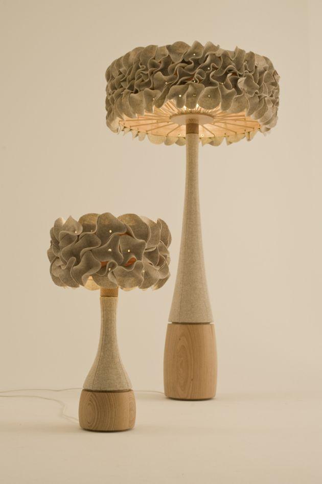 Porcini Lamps by memaké