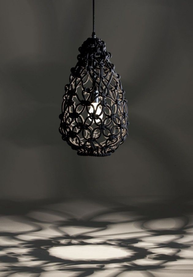 The Knotted Egg Lamp by Sarah Parkes