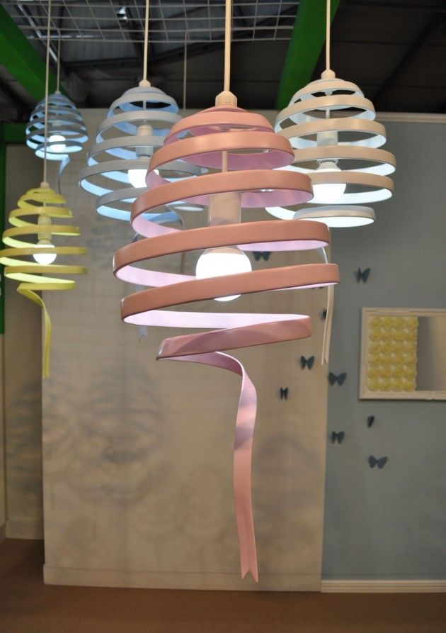 The Swing Pendant Light by Monochro Design Studio