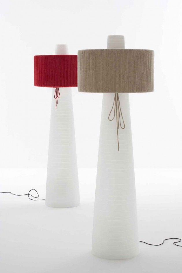 UP Floor Lamp by Mario Mazzer for Lucente