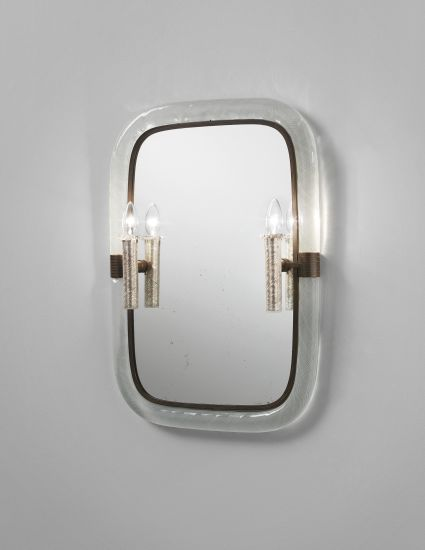 PHILLIPS : NY050313, Carlo Scarpa, Rare illuminated mirror, model no. 86
