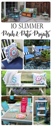 10 Porch and Patio Projects Perfect for Summer