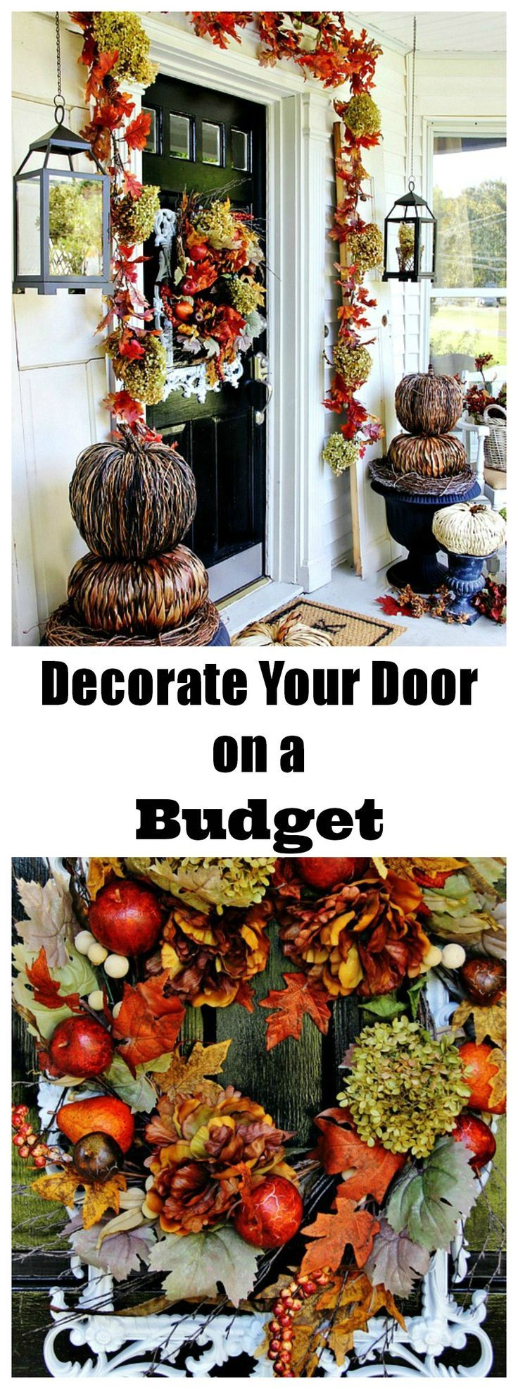 Budget Friendly Front Porch Fall Decor Ideas | Thistlewood Farms