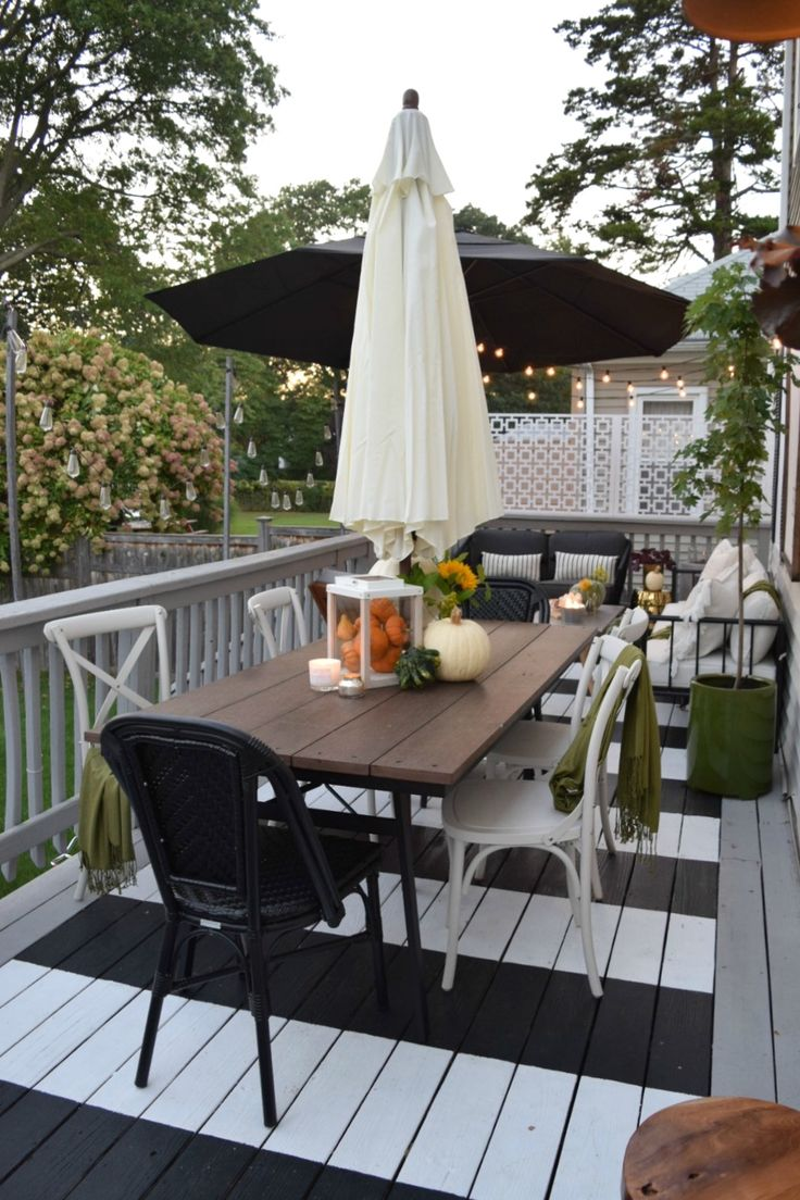 Outdoor Patio- Now we REALLY love it! - Nesting With Grace