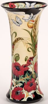 Flanders Field, Moorcroft, Glass Art
