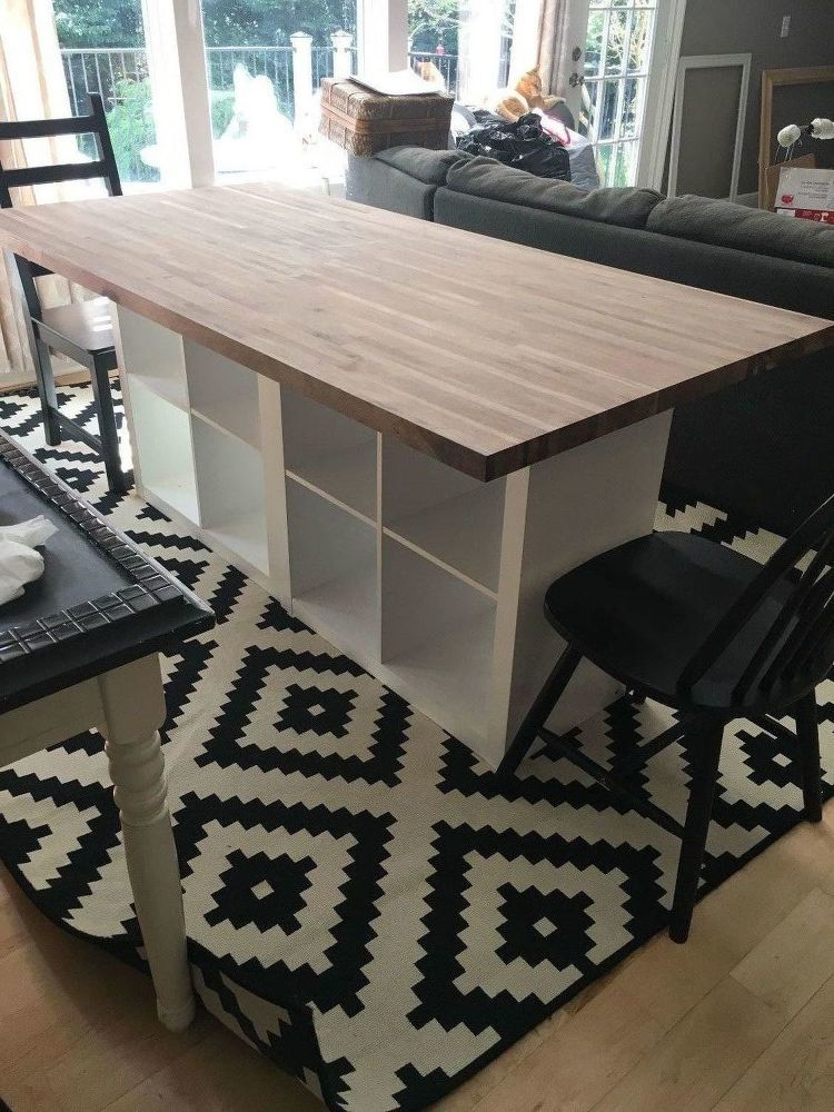 Ikea Kitchen Table Kitchen Table Redo Part 2 Butcher Block Ikea Hack Decor Object Your Daily Dose Of Best Home Decorating Ideas Interior Design Inspiration