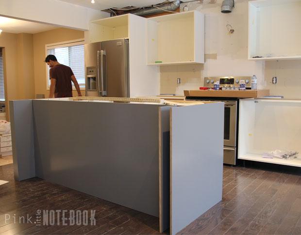 Creating an IKEA Kitchen Island - Pink Little Notebook