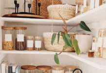 Pantry Makeover and Organization