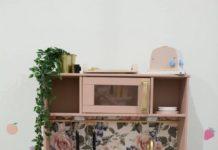 Floral Ikea kitchen hack
