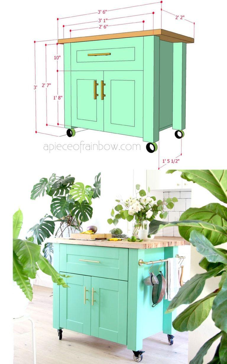 Ikea Kitchen Island Cart Farmhouse Diy Kitchen Island An Ikea Hack Decor Object Your Daily Dose Of Best Home Decorating Ideas Interior Design Inspiration