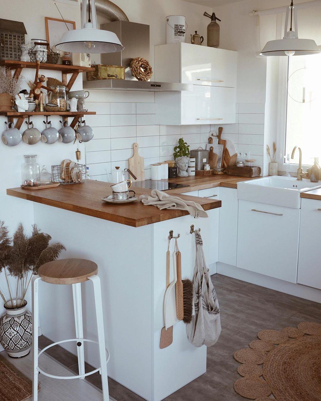 ikea small kitchen  12 Idées Déco pour Cuisine Scandinave   Decor ...