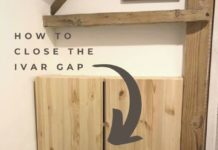 Q: Can I close the gap between IVAR doors? - IKEA Hackers