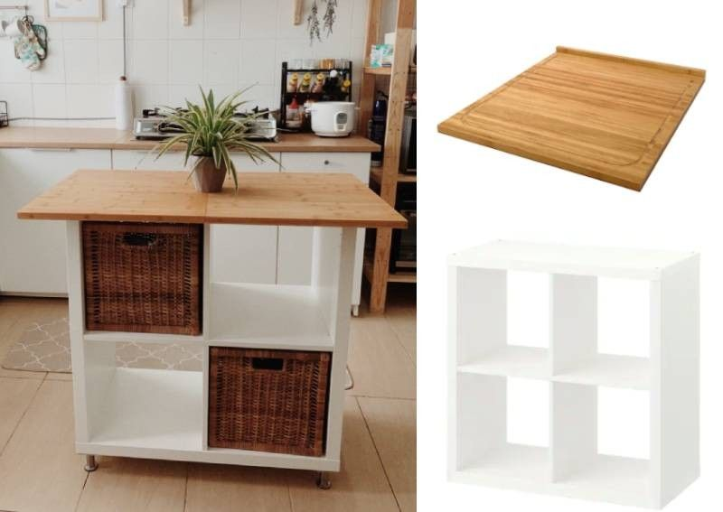Woman's Ikea hack shows you how to create your own kitchen island for only $100