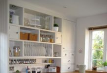 Rangement mural : tablette et étagère pour la cuisine